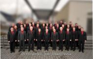 Chorbild vor der Erlenbachhalle